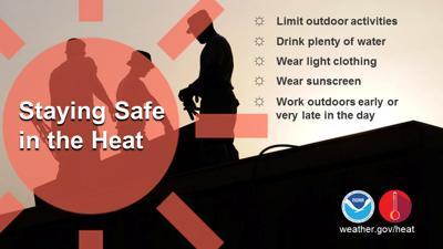 Heat Advisory graphic
