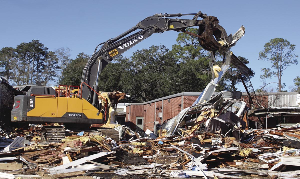 moving debris