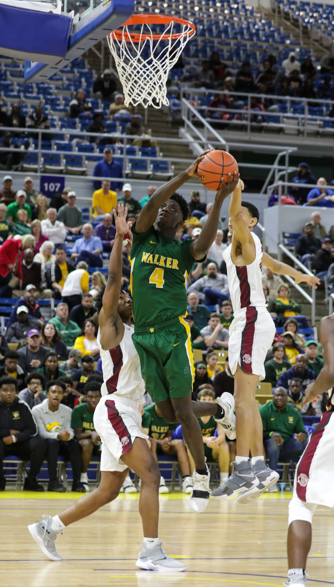 Walker vs. Ouachita Parish boys basketball Brian Thomas