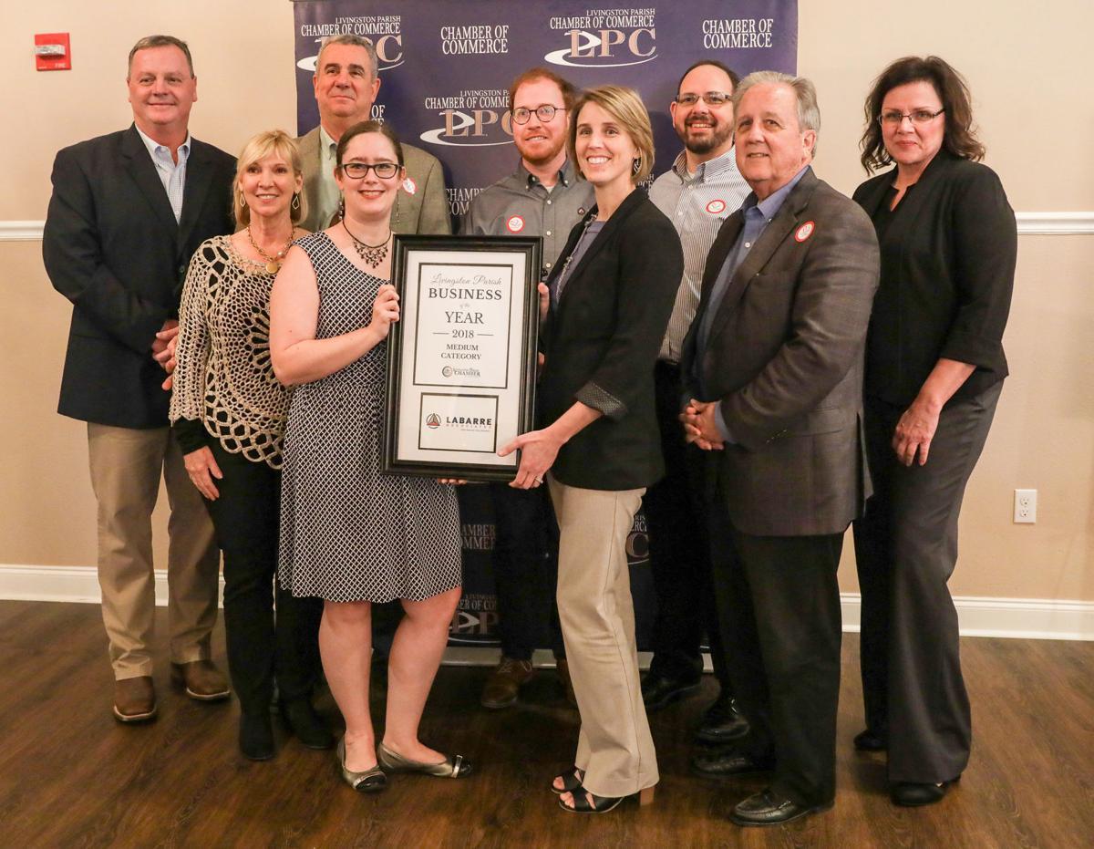 Chamber Awards Banquet Labarre Associates