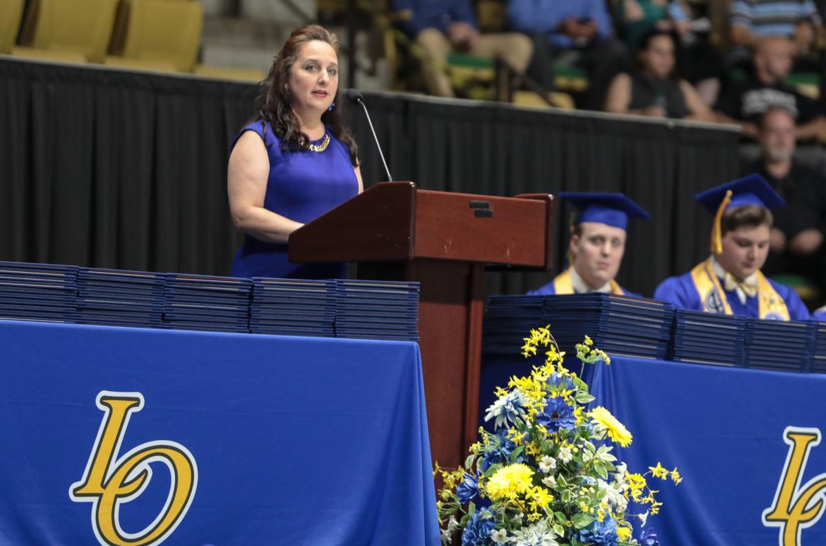 Live Oak 2018 graduation Beth Jones