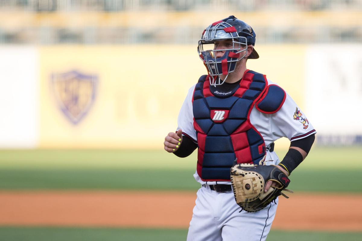 MiLB:  Kade Scivicque Columbus Clippers at Toledo Mud Hens