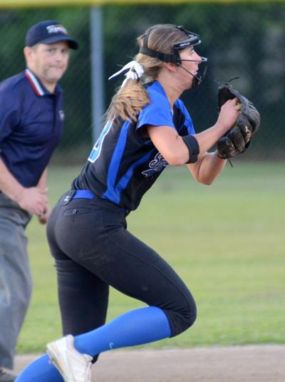 Springfield-Port Allen softball Tabby Lobell