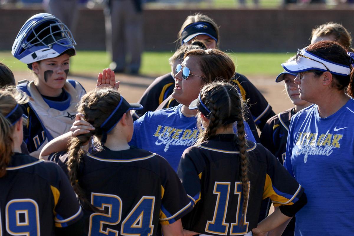 Denham Springs vs Live Oak Softball: Michelle Morris