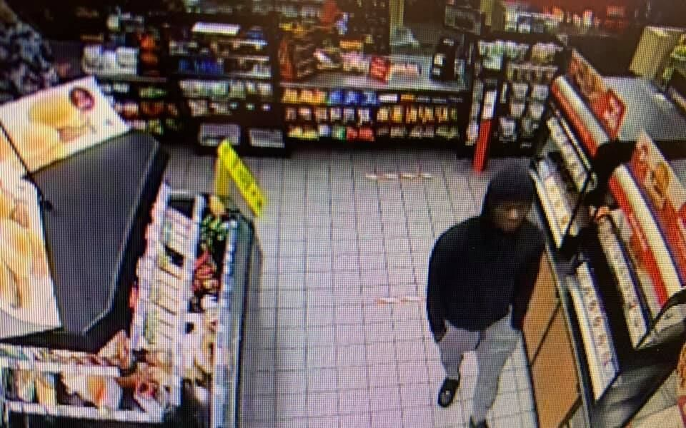 Gas station theft
