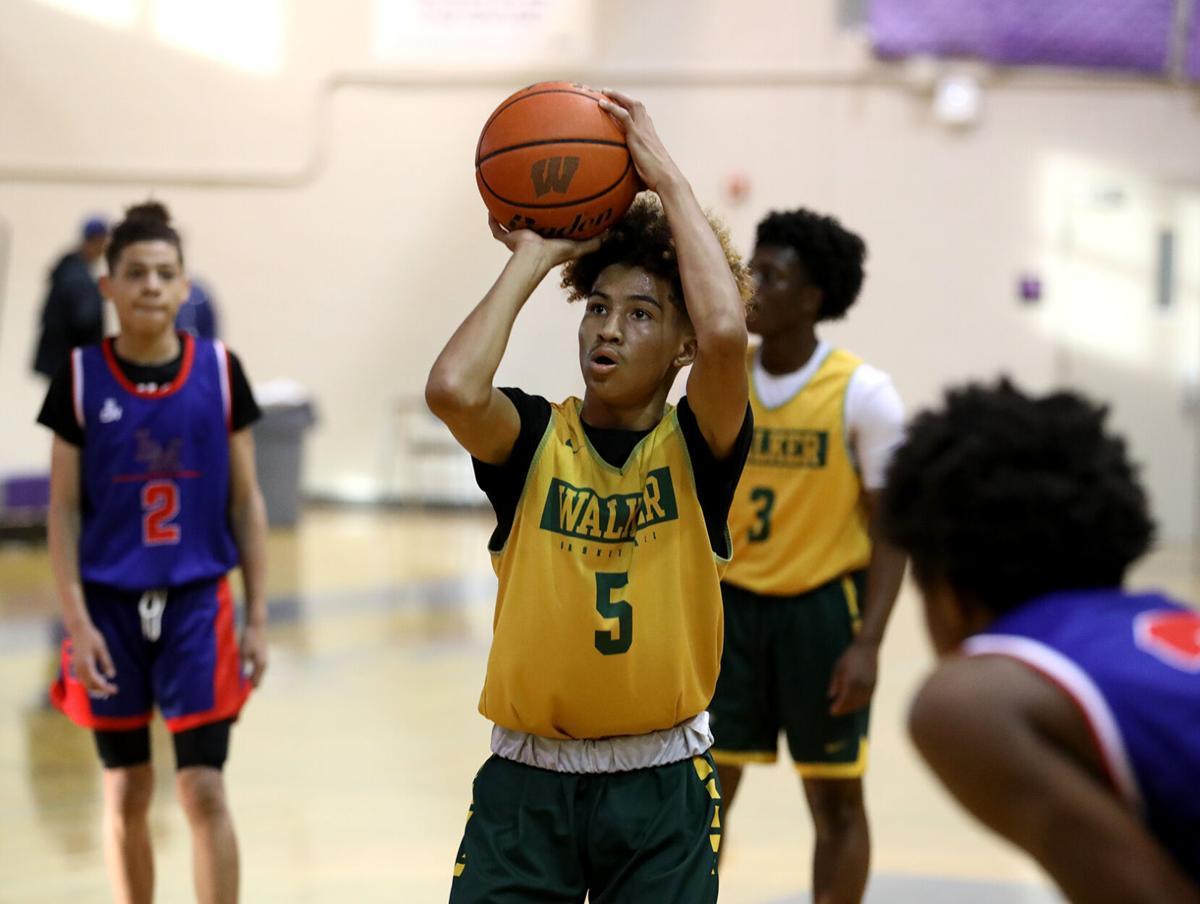 Walker vs Liberty summer league boys' basketball 2021