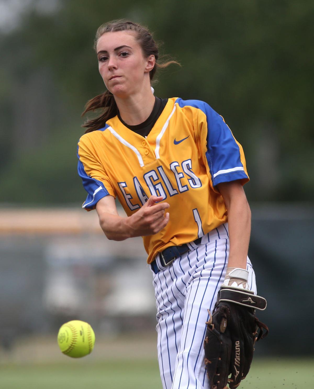 Live Oak softball Lindsey Rizzo