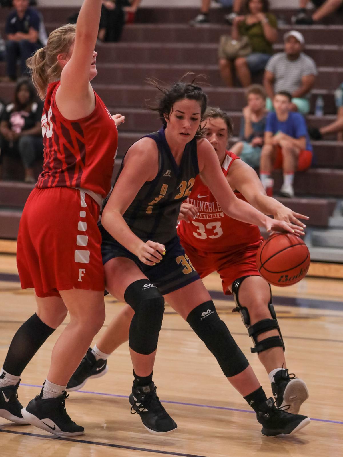 Summer League Basketball Kate Thompson