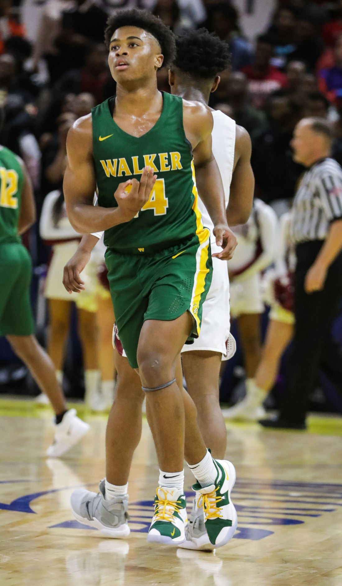 Walker vs. Ouachita Parish boys basketball Jalen Cook