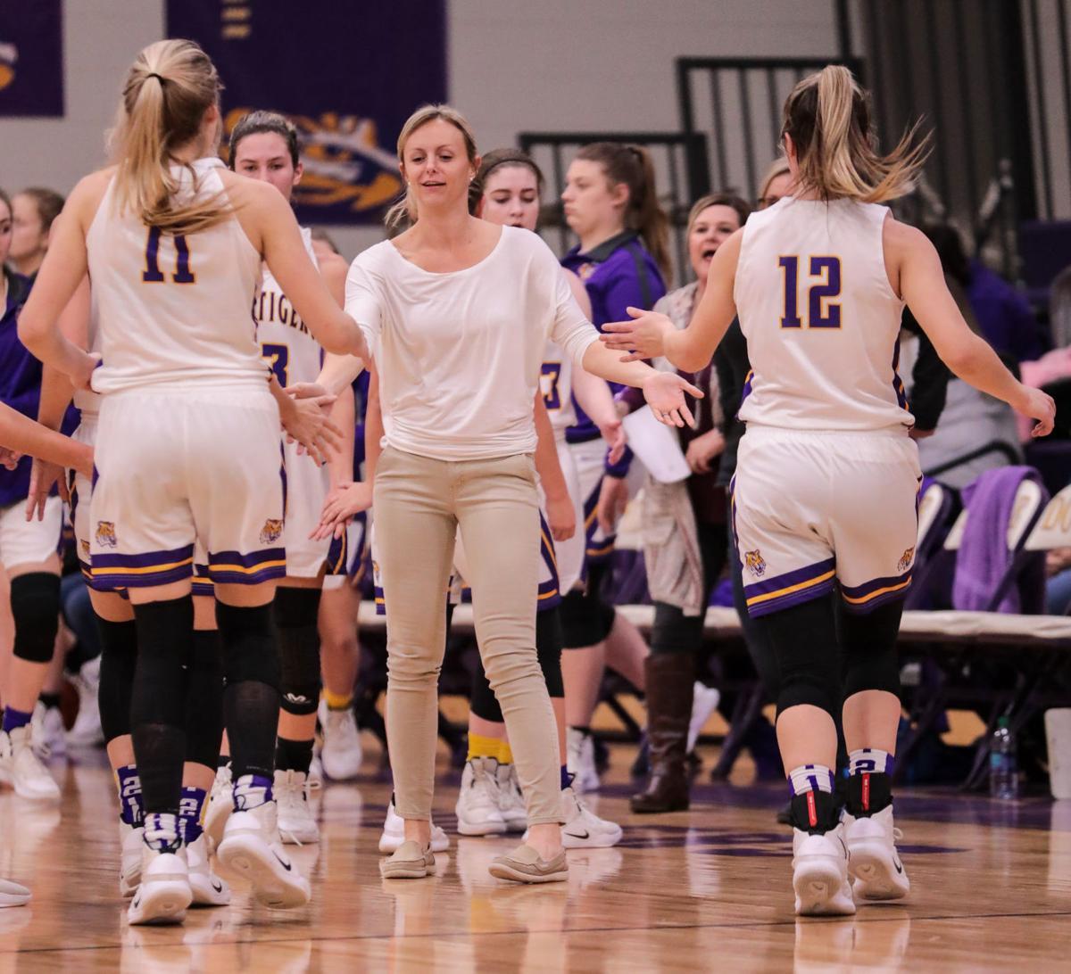 French Settlement at Doyle girls basketball Samantha White