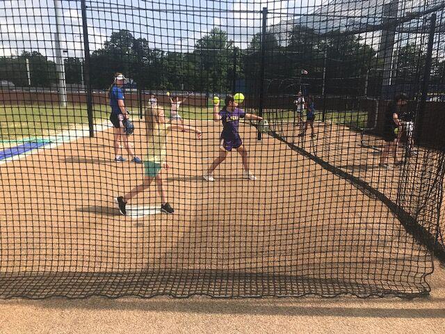 Live Oak softball camp