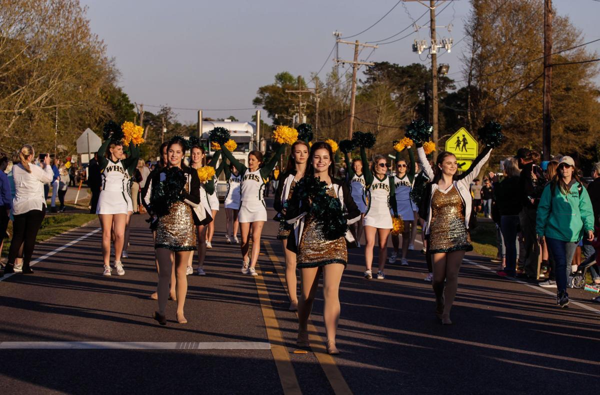 Walker celebration parade dancers