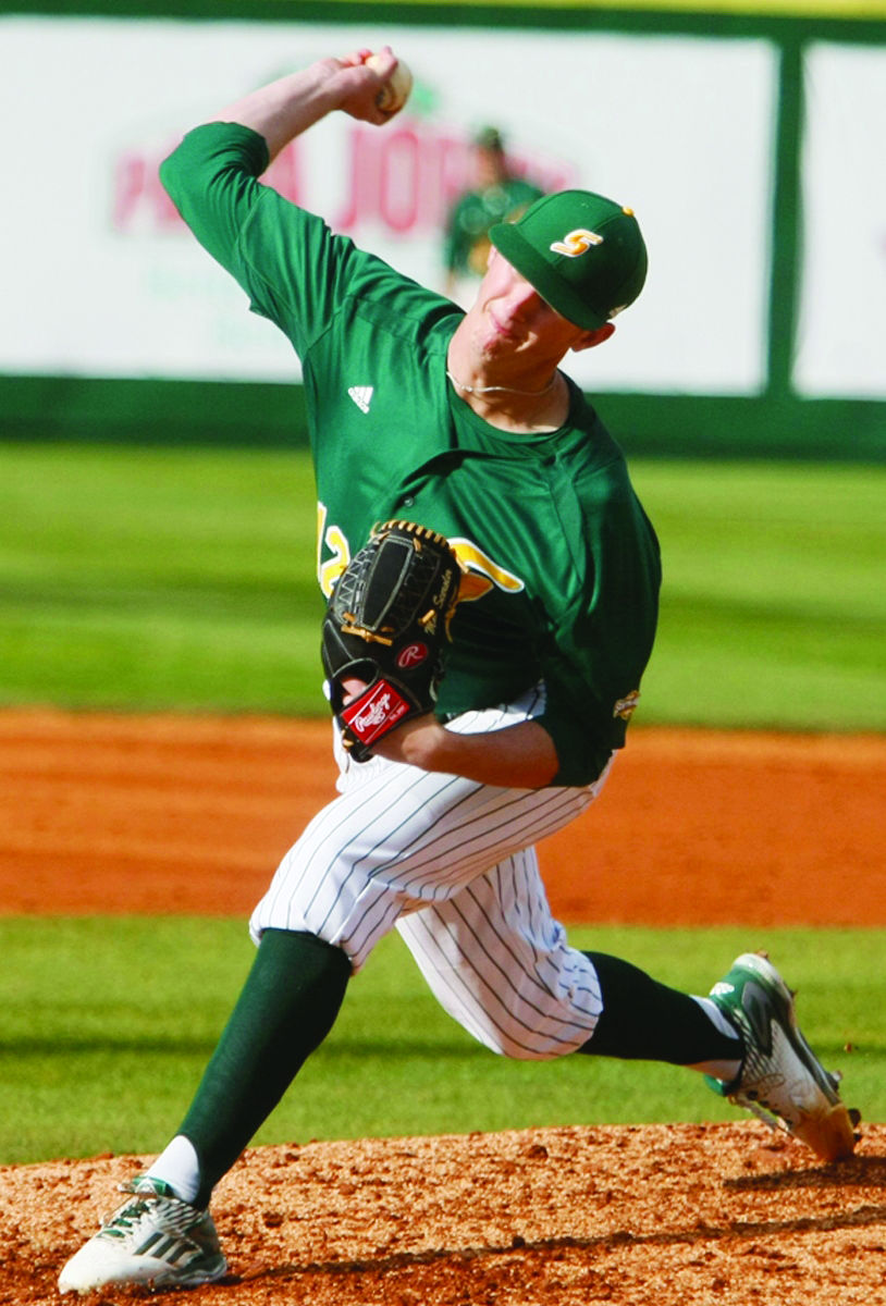 Sceroler pitches for Southeastern