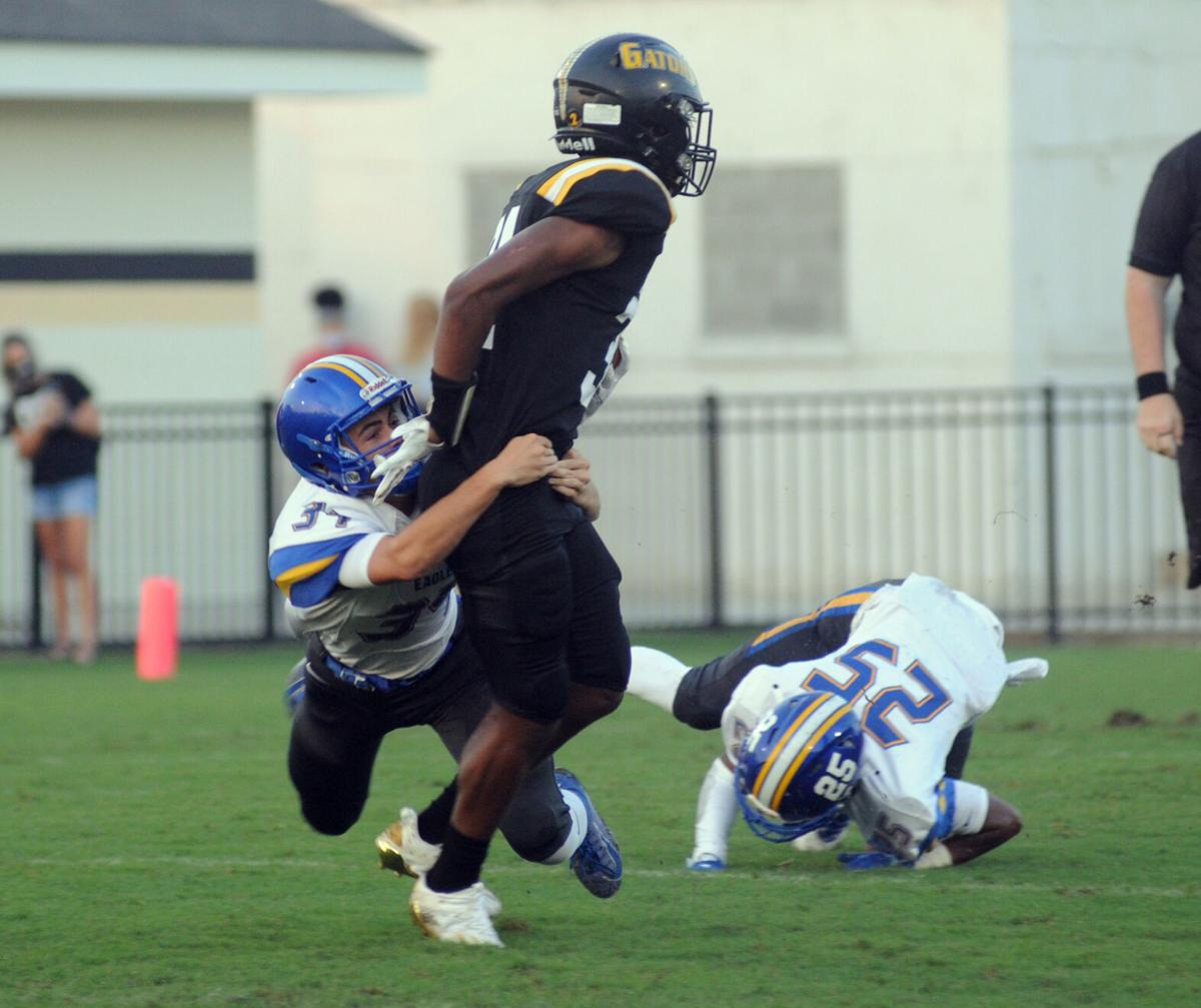 Live Oak-St. Amant football Christian Dickerson