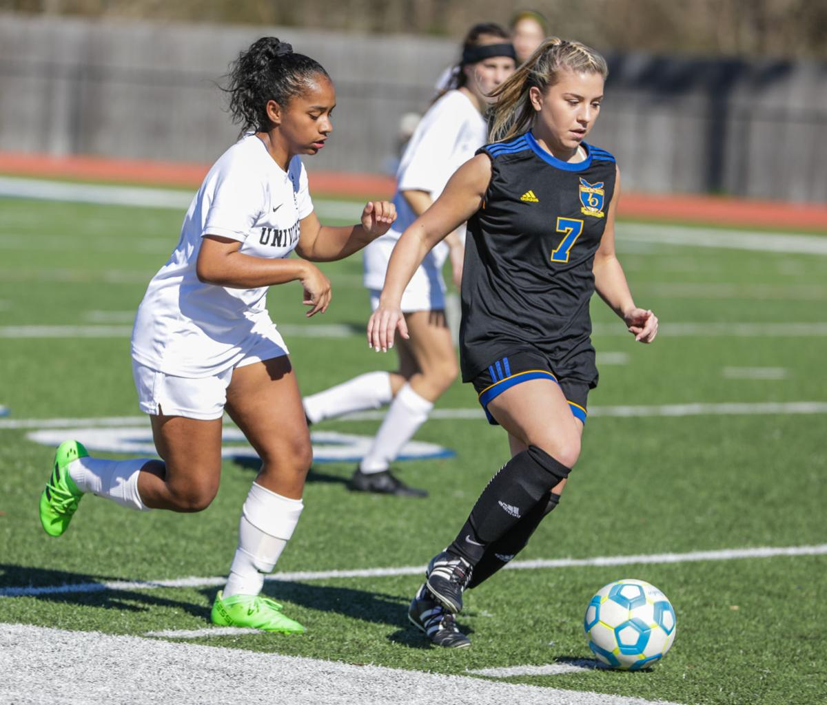 University High at Live Oak girls soccer Alicia Carlos Chandler Collins