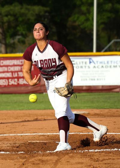 Albany vs Doyle softball Brittney Turner