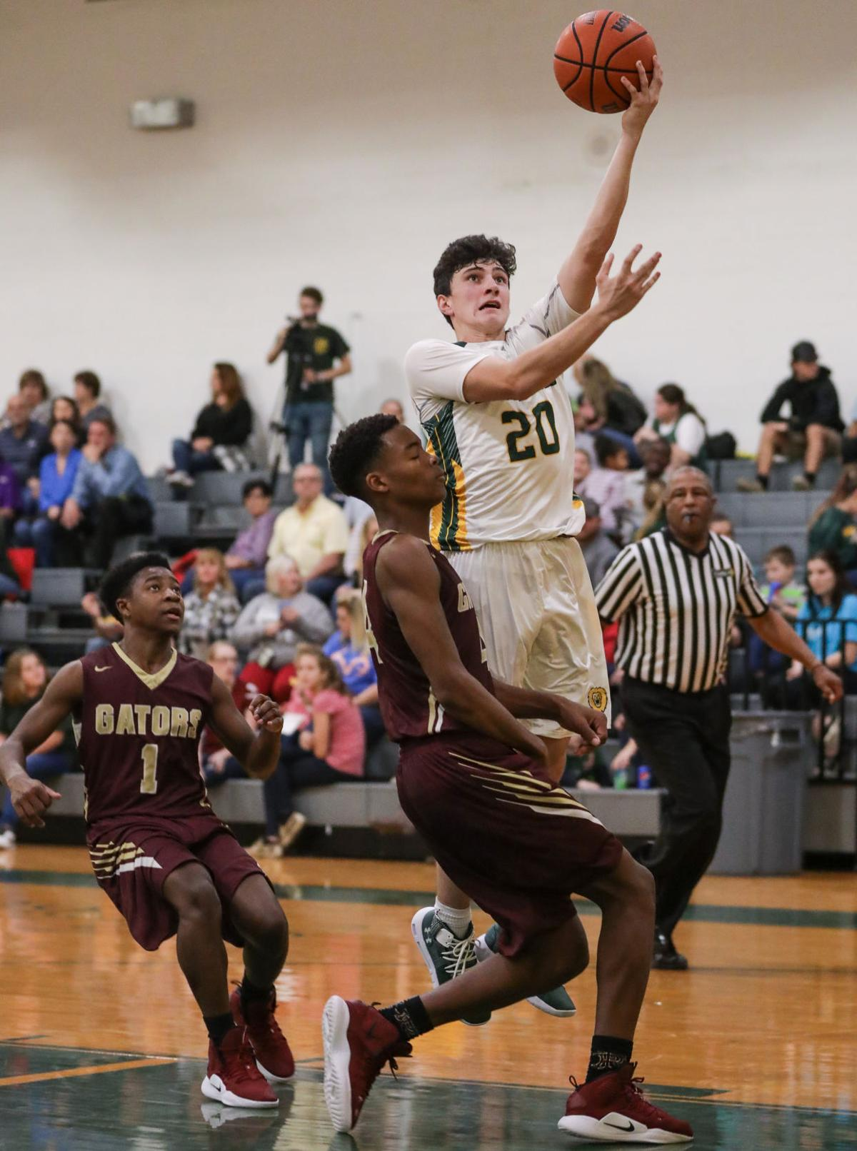 False River at French Settlement boys basketball Jonas LeBourgeois