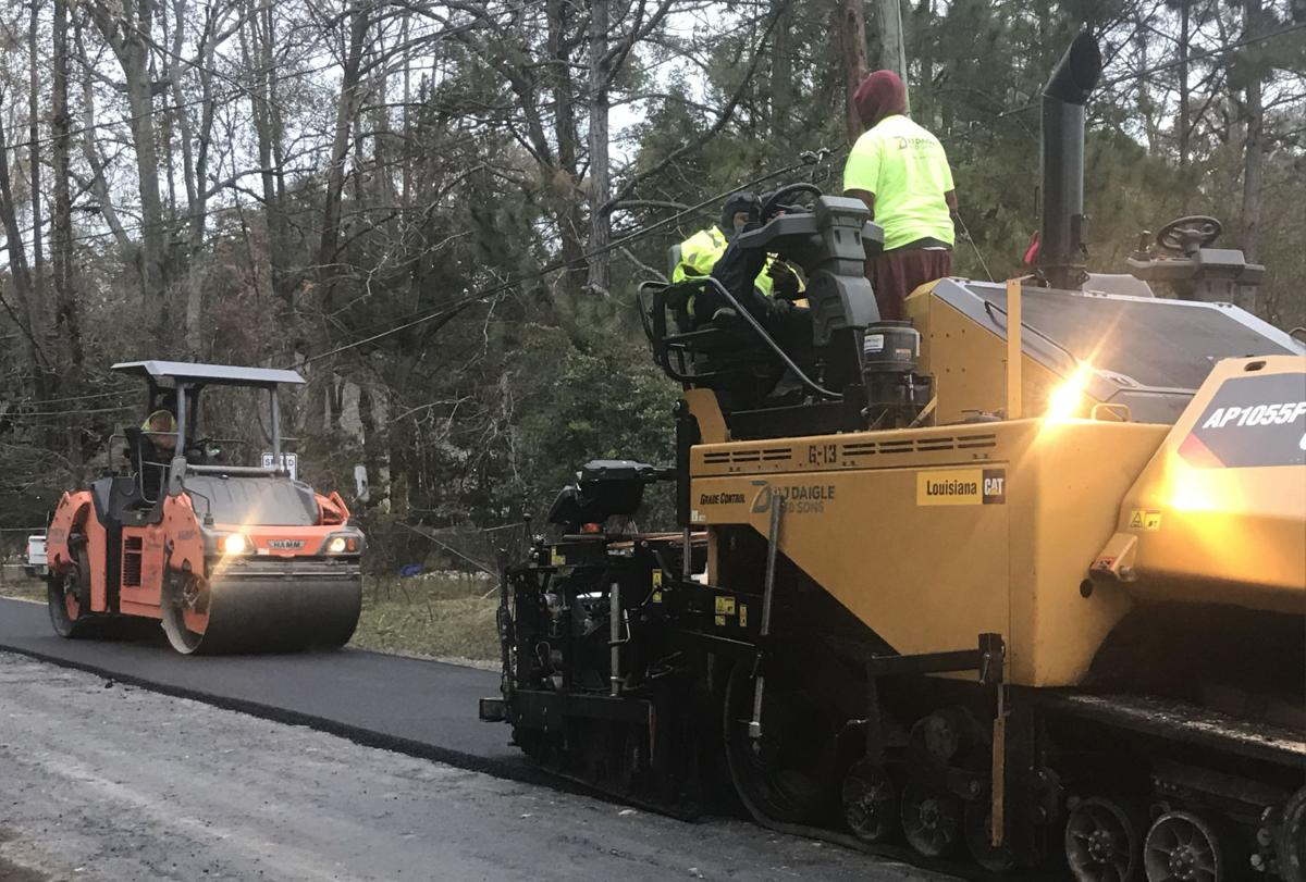 Road Project Continues