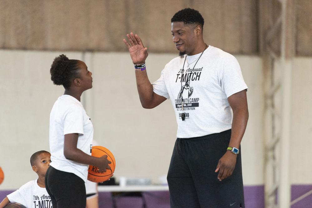 Tasmin Mitchell Basketball Camp,