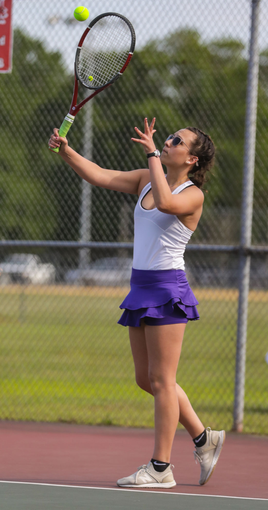 Walker at Denham Springs tennis Claire Perkins