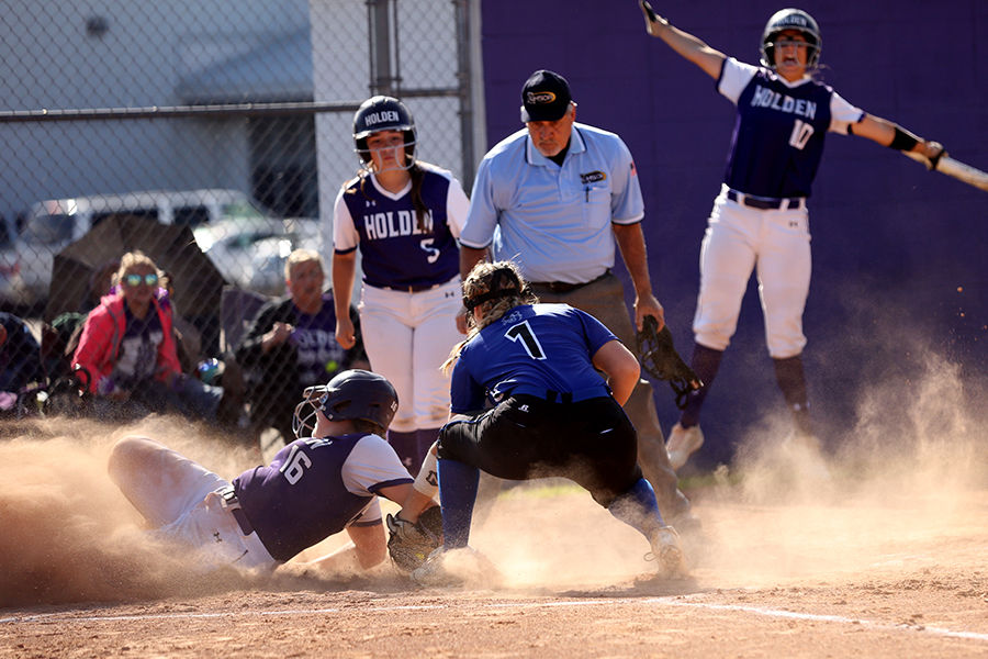 Holden vs Stanley Softball Olivia Douglas Kamrynn Ouber Ashley Fogg