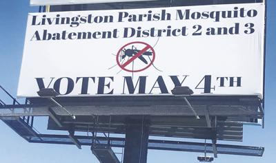 Mosquito Abatement Billboard