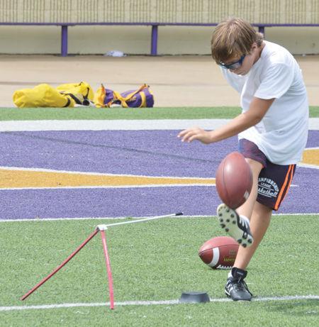 e8714efe5a Football: Traveling kicking camp hits DSHS | Sports |  livingstonparishnews.com