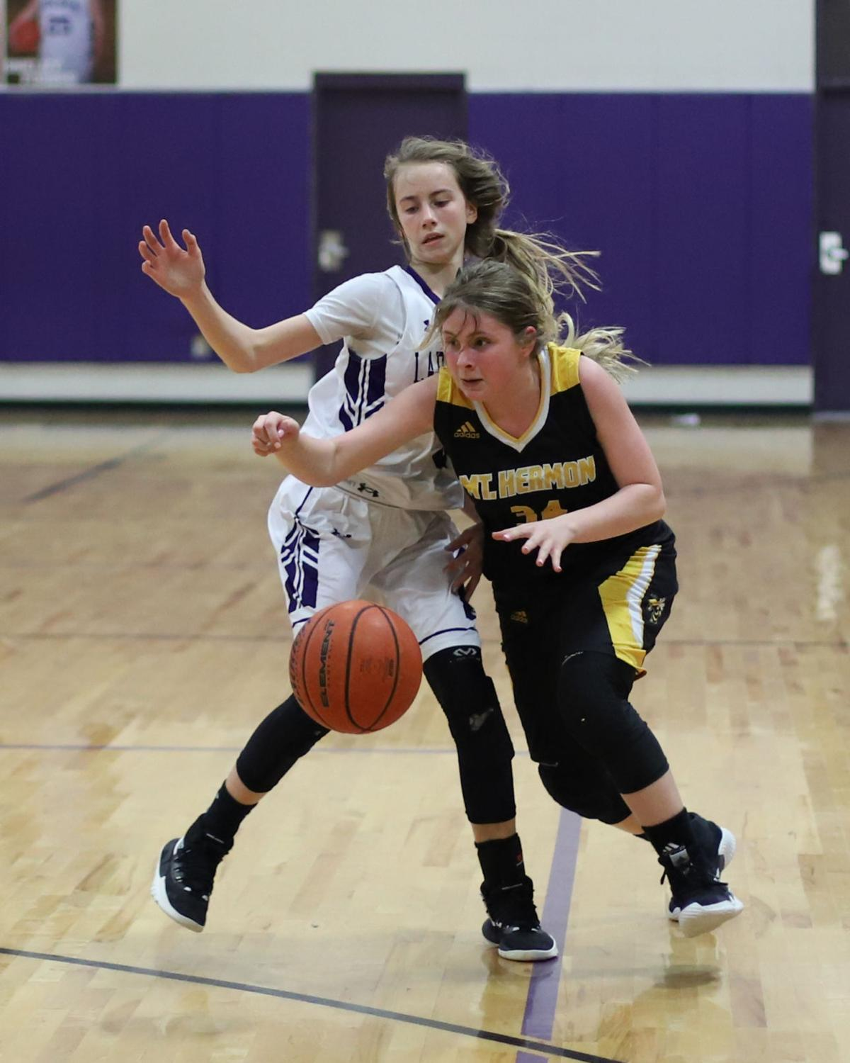 Mt. Hermon at Holden girls basketball Cambree Courtney