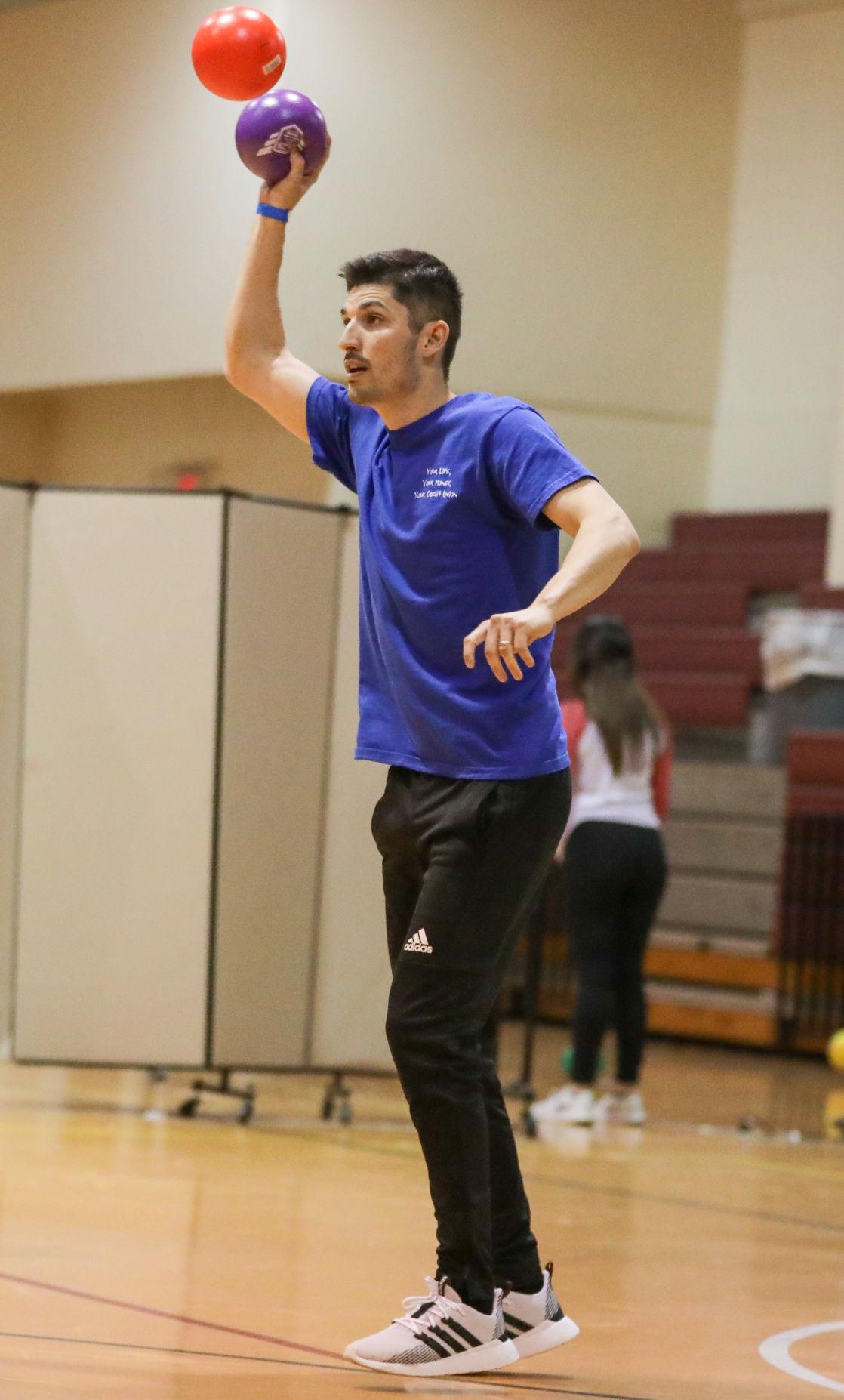 Livingston Young Professionals' dodgeball tournament 2019 Daniel Knoll