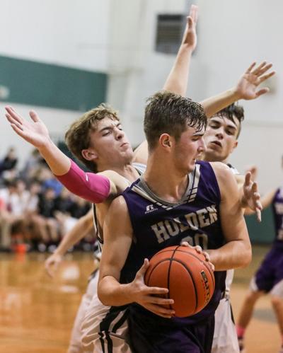 Maurepas basketball Jamboree Dylan Gueldner