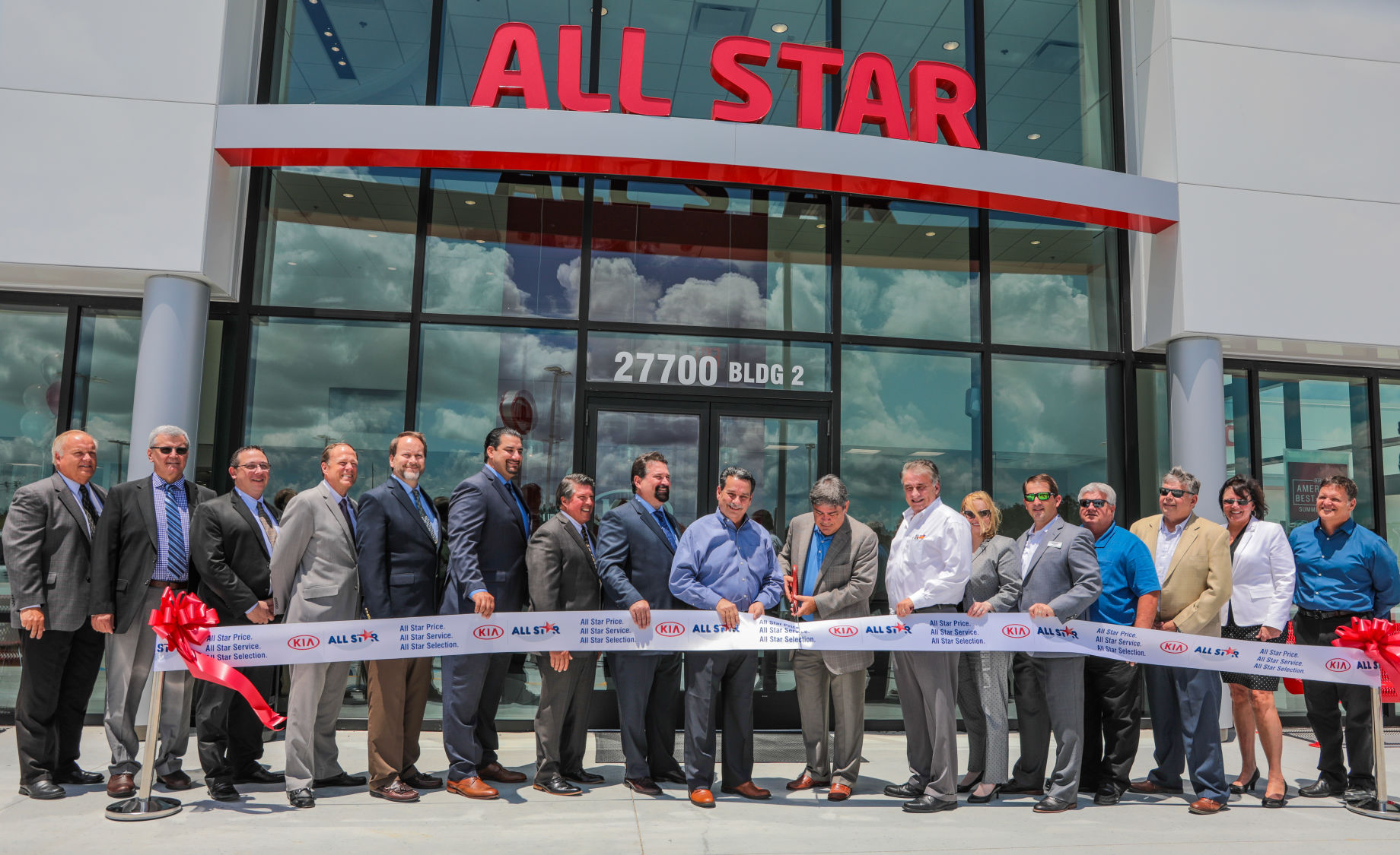 All Star Nissan Grand Opening Ribbon Cutting
