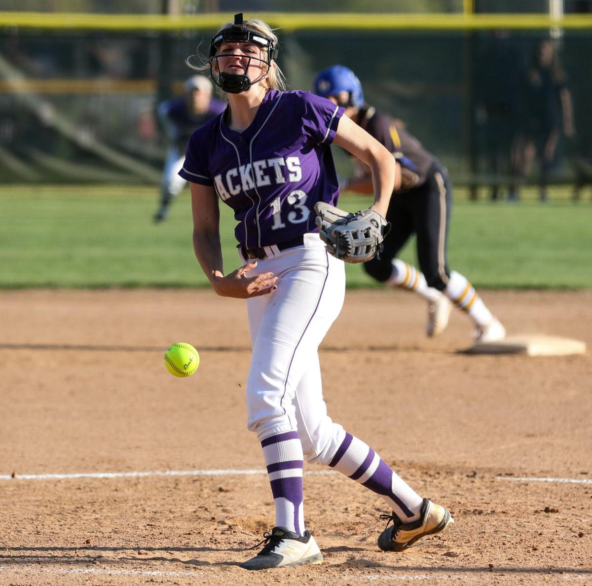 Denham Springs vs Live Oak Softball: Natalie Parker