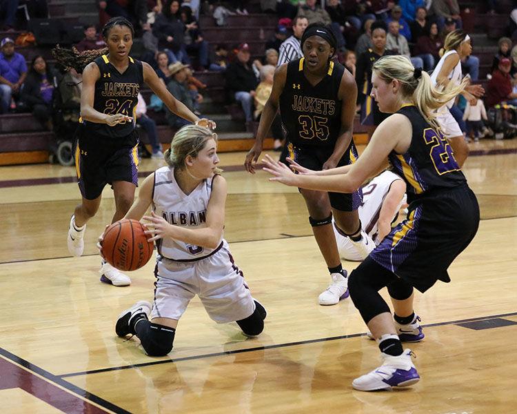 Albany vs Denham Springs girls Brooke Saxon (5)