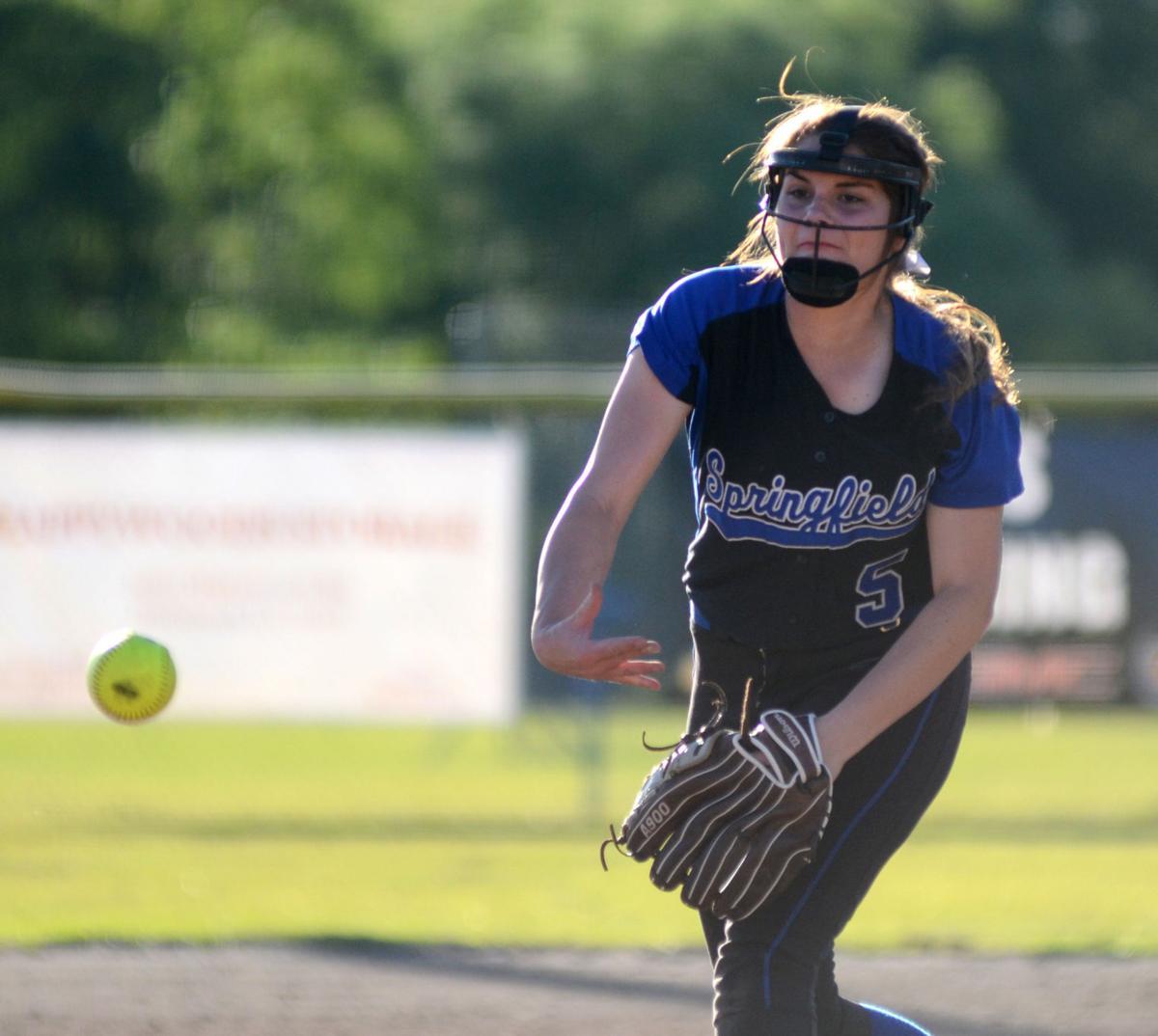 Springfield-Port Allen softball Morgan Sibley