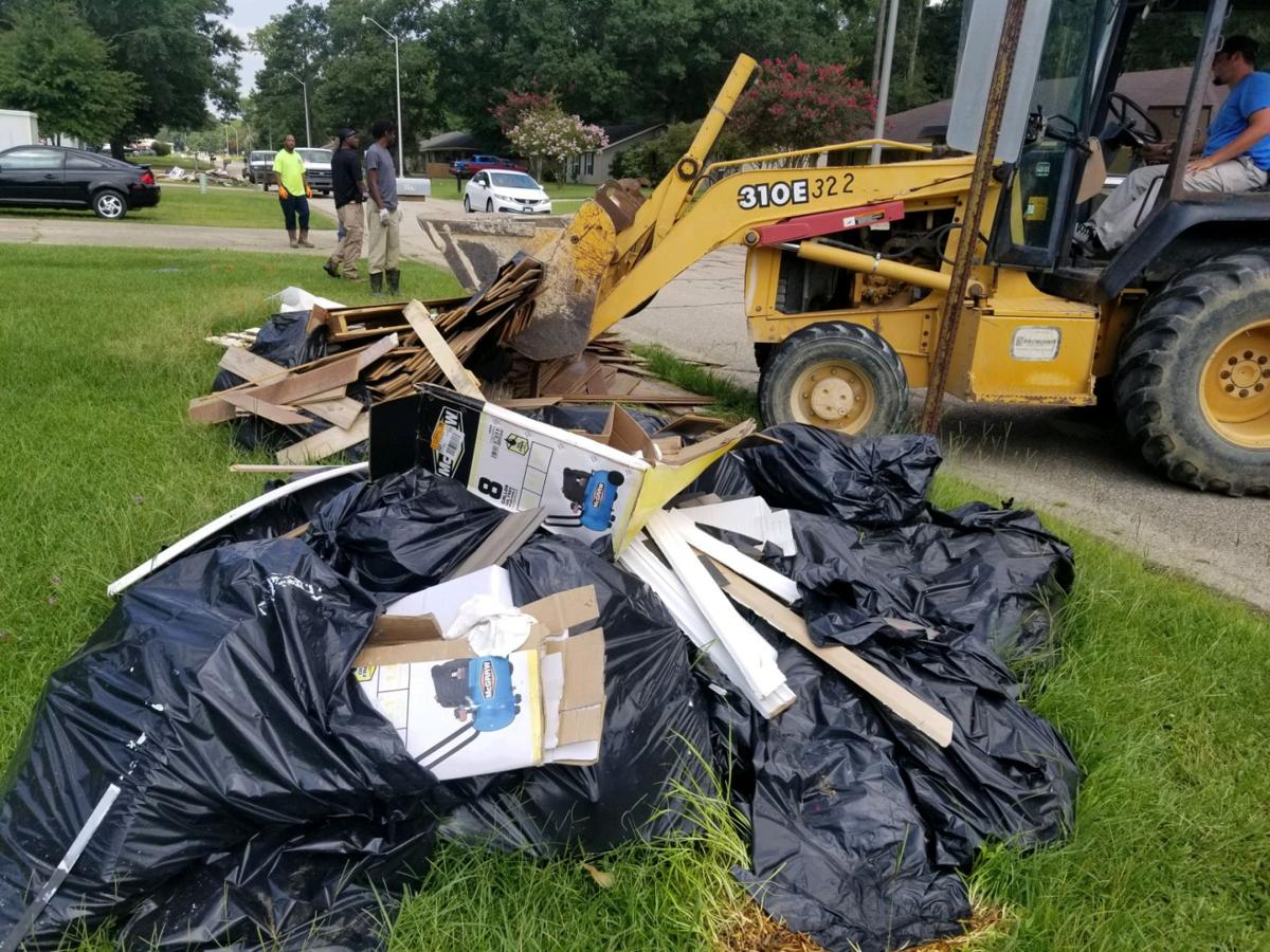 City of Denham mobilizes