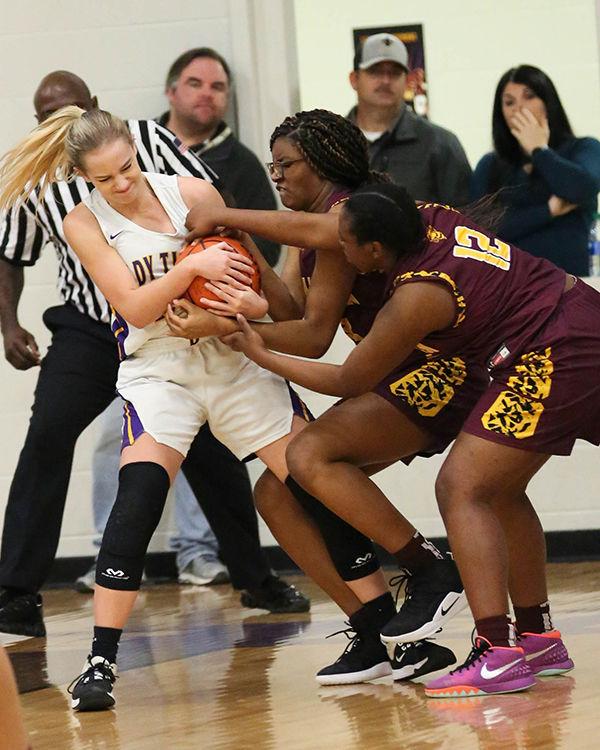 Doyle vs Franklin girls basketball Meghan Watson