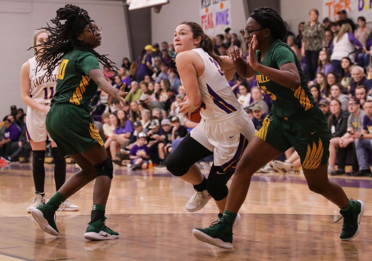 Rayville at Doyle girls basketball Madison Duhon