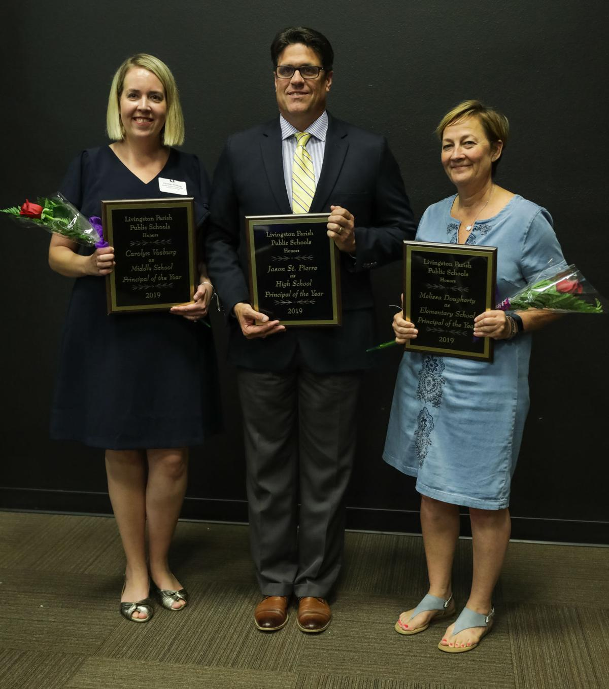 LPSB teachers and principals of the Year Reception