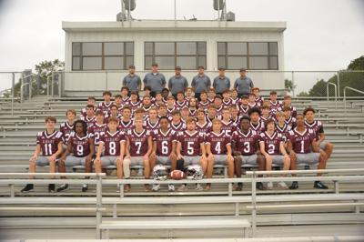 Albany football 2020 team photo
