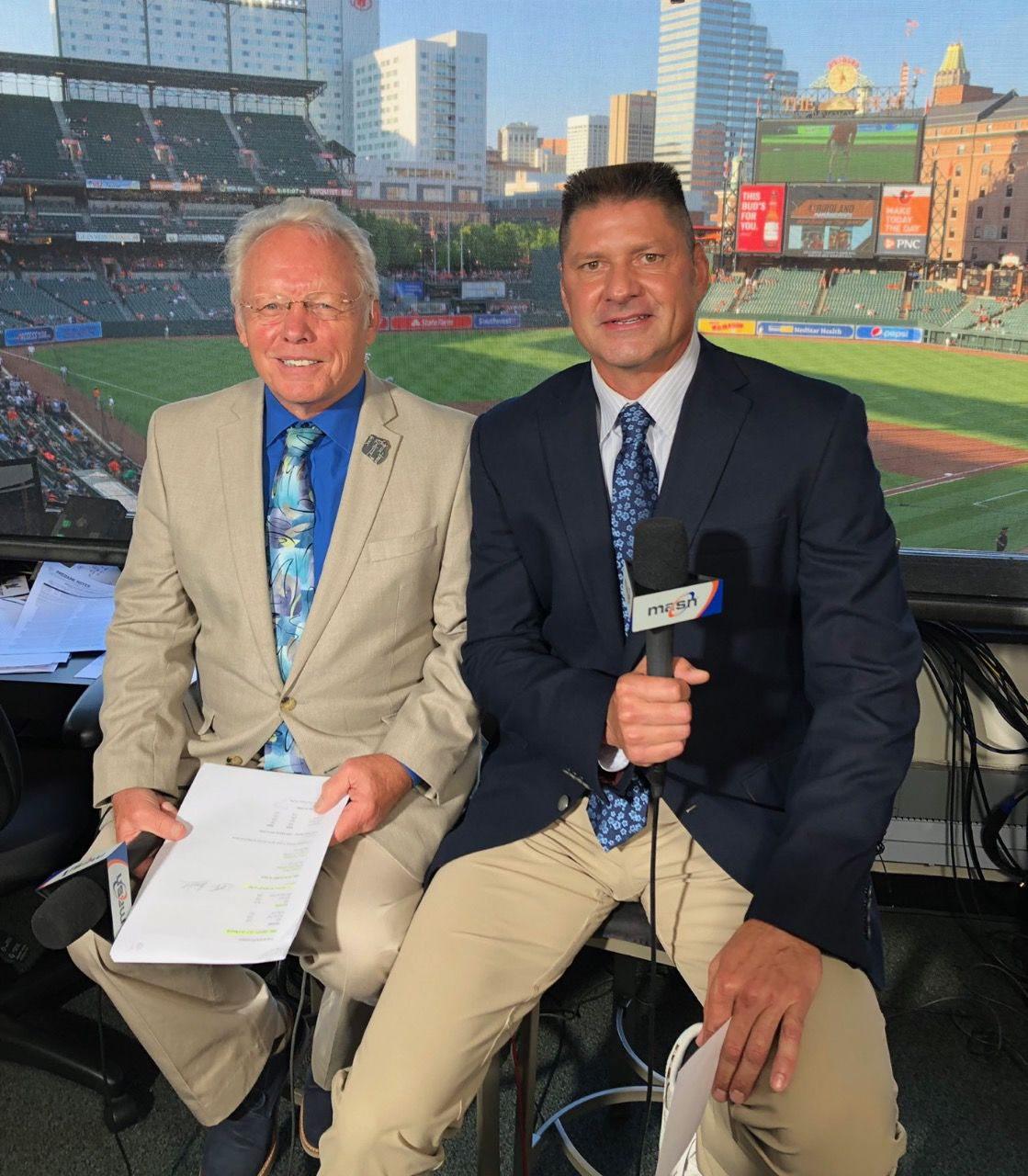 Ben McDonald with Gary Thorne in Orioles booth..jpg