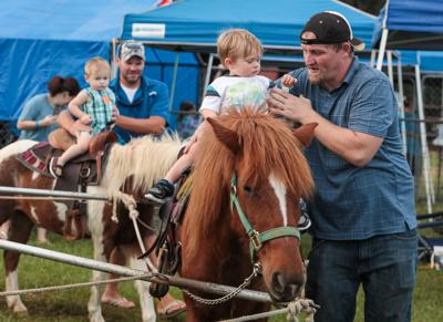 Livingston Parish Fair pony ride