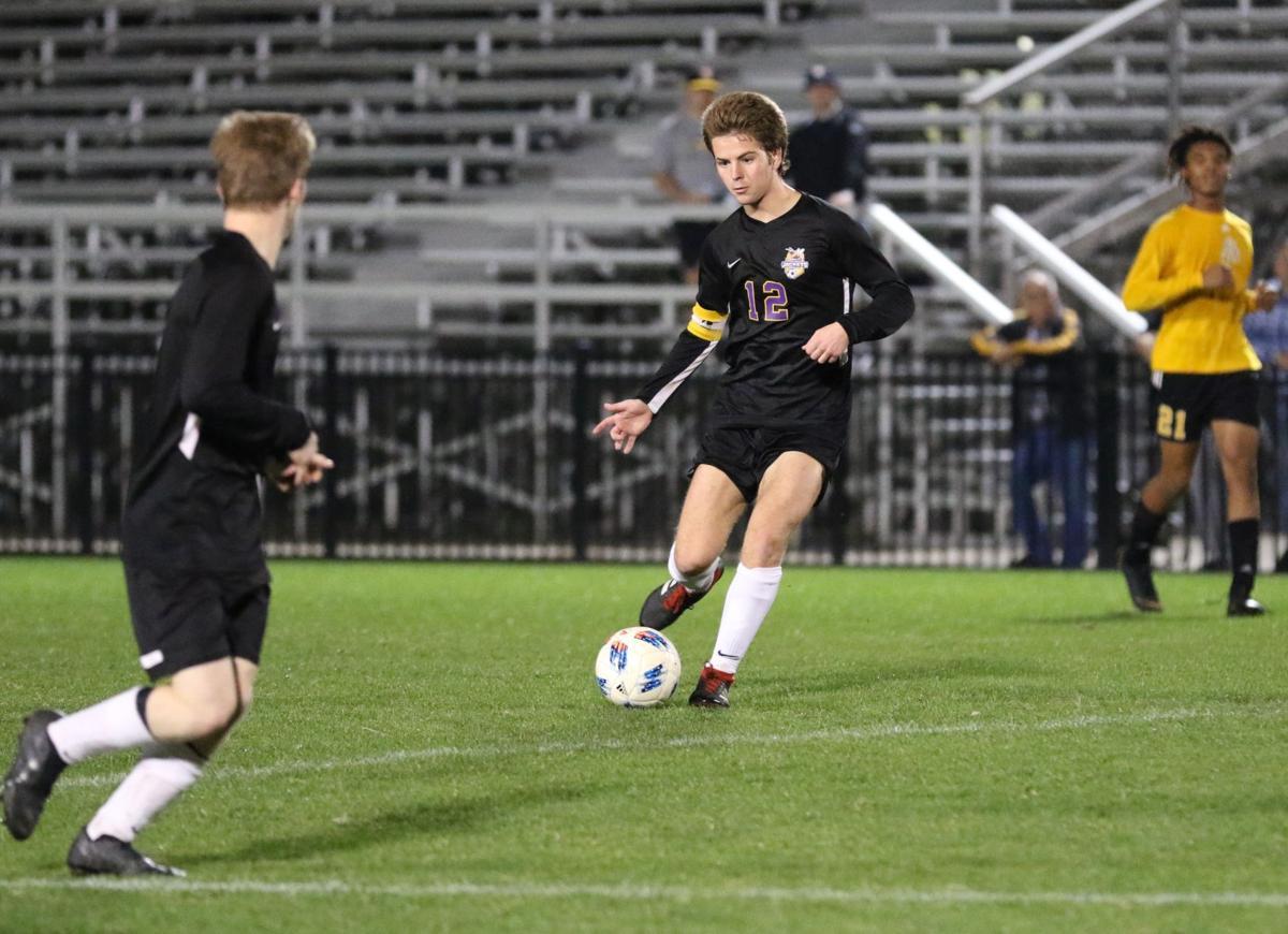 Denham Springs boys soccer vs. St. Amant: Collin Turner