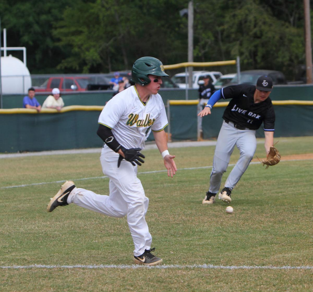 Live Oak baseball vs. Walker: Lane Hutchinson, Camden Carver