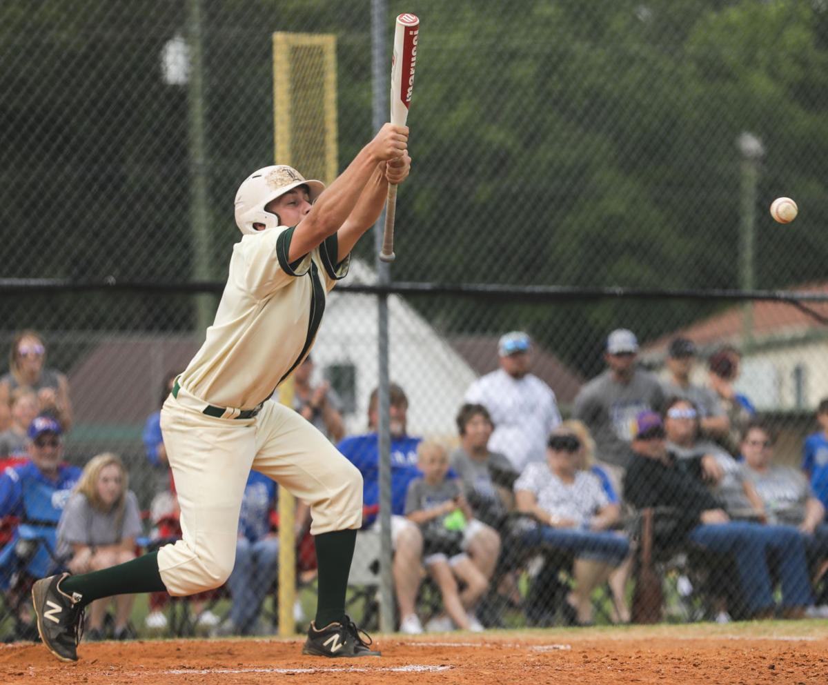 Pitkin at Maurepas baseball Chase Guitreau
