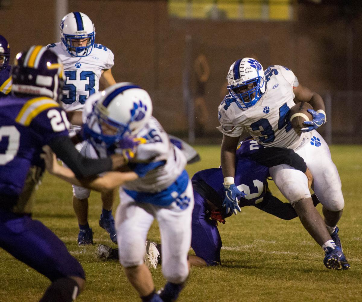 Springfield at Amite football playoffs Arshun Andrews Corey McKnight