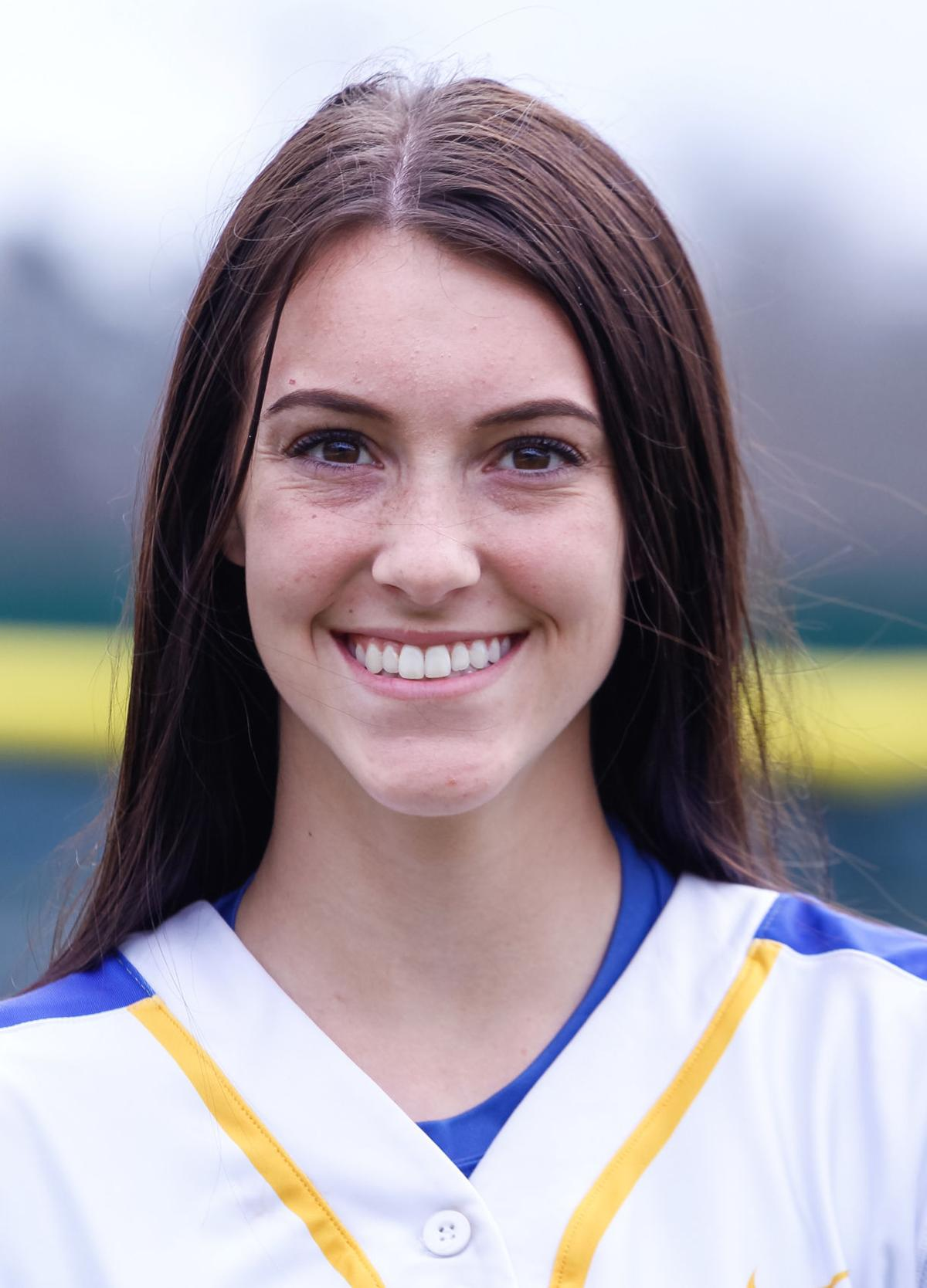Live Oak softball head shots Lindsey Rizzo (2018)