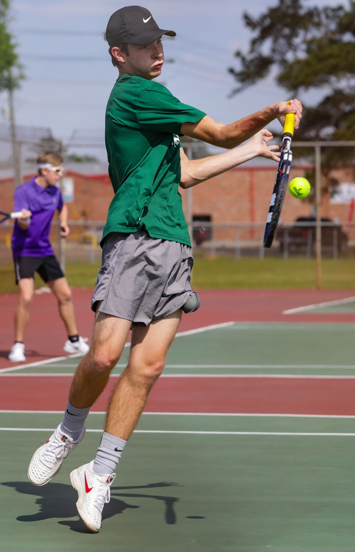Walker at Denham Springs tennis Bryce Wadenpfuhl