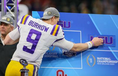 LSU vs. Oklahoma: Joe Burrow