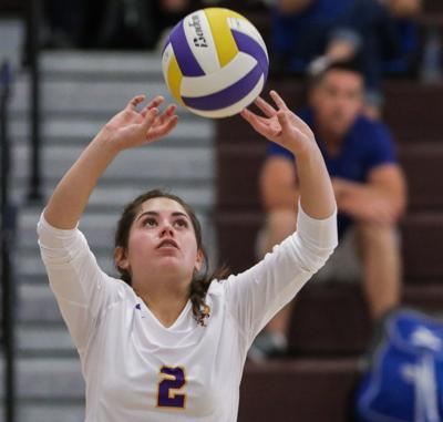 Springfield at DSHS volleyball Catherine Beasley