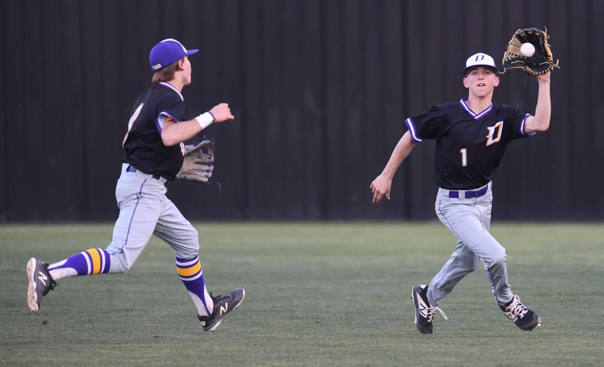 Doyle baseball vs. Central: Cade Watts, Braden Keen